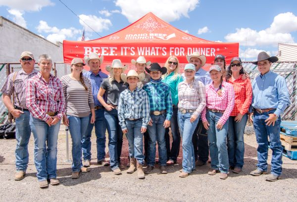 Beef Industry Leaders Volunteer in Gooding - Supporting Beef Counts Program and The Idaho Foodbank